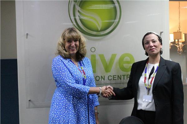 وزيرة البيئة تناقش مع ممثلة الاتحاد الأوروبي الاستفادة من تجارب الاقتصاد الدوار