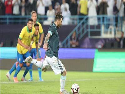 بأقدام ميسي.. الأرجنتين تفوز على البرازيل 1/0 فى السوبر كلاسيكو