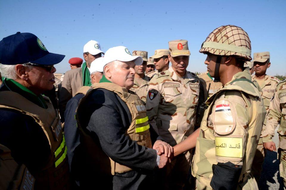 """""""دفاع النواب"""" تشيد بمستوى تدريب مقاتلي الجيش الثالث الميداني"""