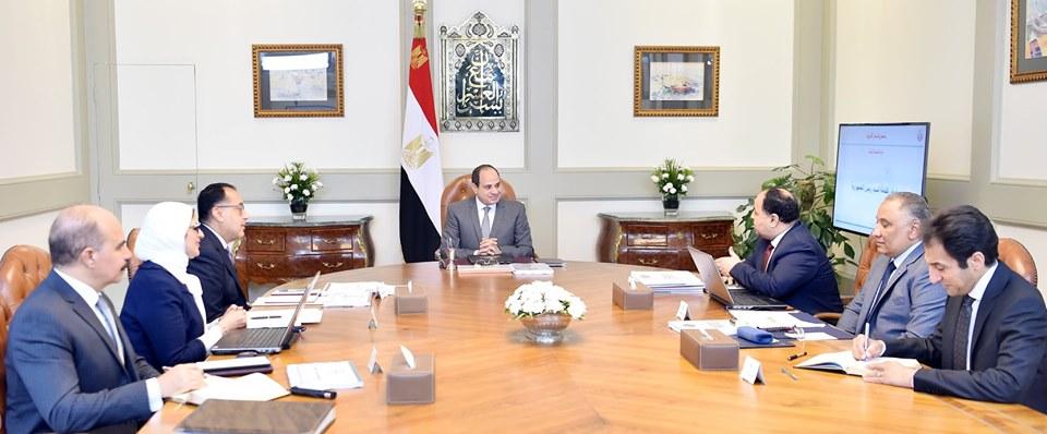 الرئيس السيسى يوجه بالإطلاق التجريبى للتأمين الصحى الشامل بجنوب سيناء والأقصر