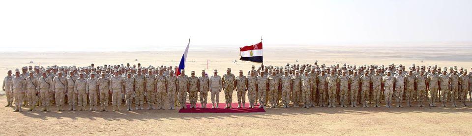ختام فعاليات التدريب المشترك المصرى الروسى «سهم الصداقة -1»