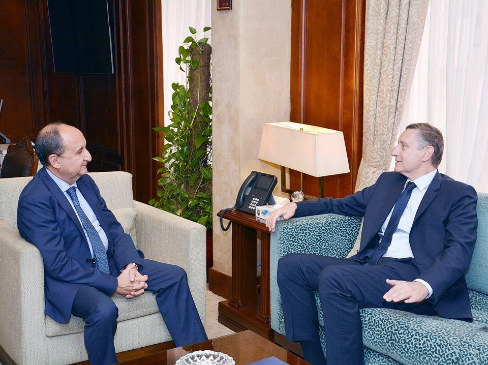 وزير التجارة يبحث مع سفير المانيا بالقاهرة مستقبل التعاون الاقتصادي بين البلدين