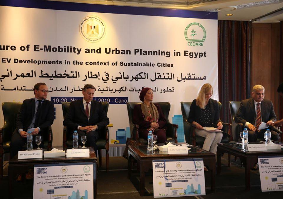 فؤاد : نعمل على تهيئة المناخ الداعم لمنظومة النقل المستدام بالتعاون مع الوزارات المعنية