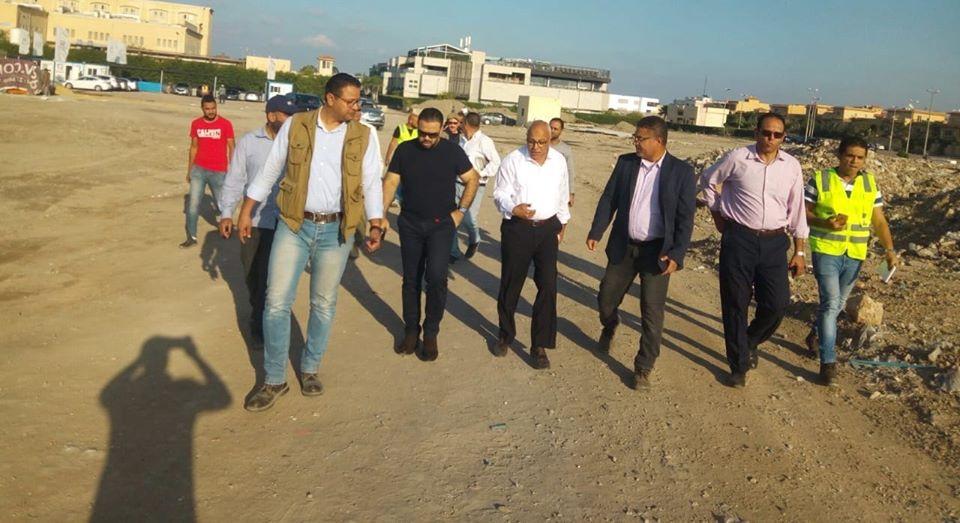 مساعد نائب وزير الإسكان يتفقد تنفيذ المرحلة العاجلة بمدينة رشيد الجديدة