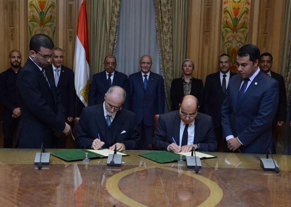 3 وزراء يشهدون توقيع مذكرة تفاهم مع شركة سويسرية لتحويل المخلفات إلى طاقة
