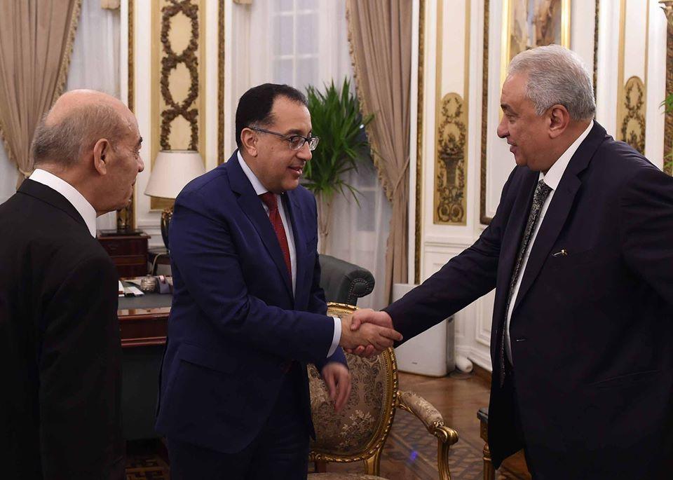 رئيس الوزراء يستقبل رئيس وأمين عام الاتحاد العربى للتحكيم فى المنازعات الاقتصادية