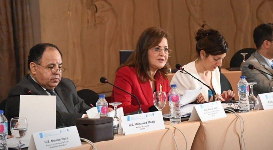 وزيرة التخطيط تستعرض التجربة المصرية أمام منظمة التعاون الاقتصادي