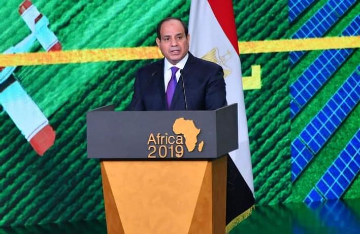 الرئيس السيسي : التنمية حق من حقوق الإنسان وأفريقيا مليئة بالفرص والتحديات