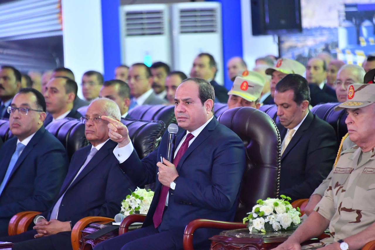 رسالة الرئيس السيسى بافتتاح مشروعات السويس وجنوب سيناء تتصدر صحف القاهرة