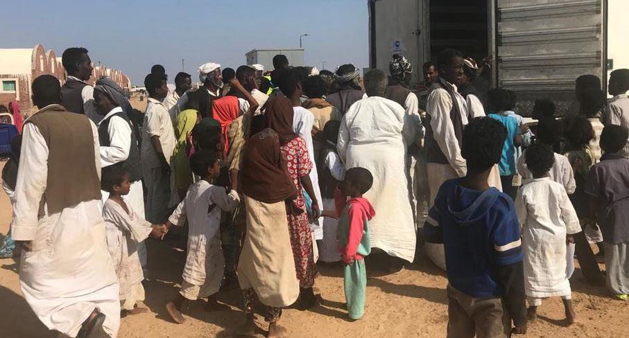 حزب مستقبل وطن يرسل قافلة كبرى إلى مدينة حلايب
