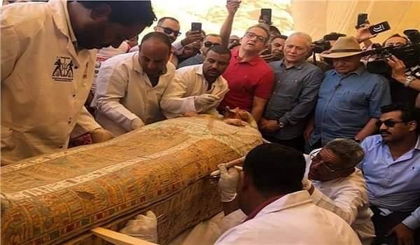 لأول مرة.. عرض ٣ توابيت من خبيئة العساسيف للجمهور بالمتحف المصري بالتحرير