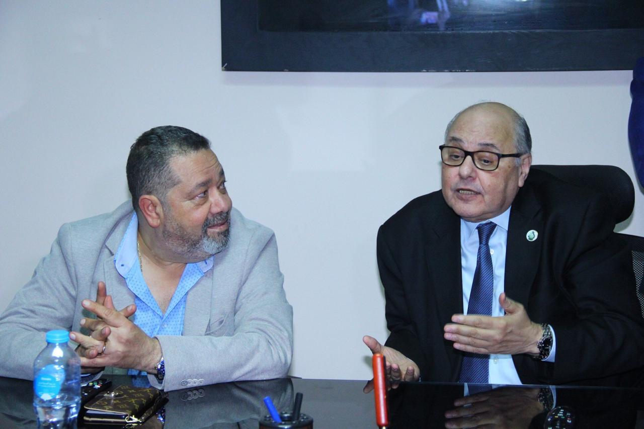 صور| رئيس حزب الغد يفتتح مقر امانة جنوب القاهرة بقيادة جورج عياد