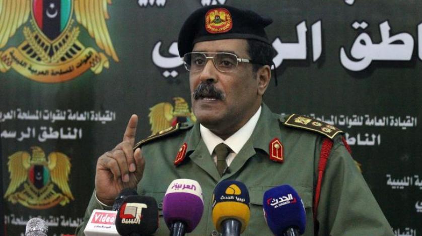 ننشر بيان القيادة العامة للقوات المسلحة العربية الليبية