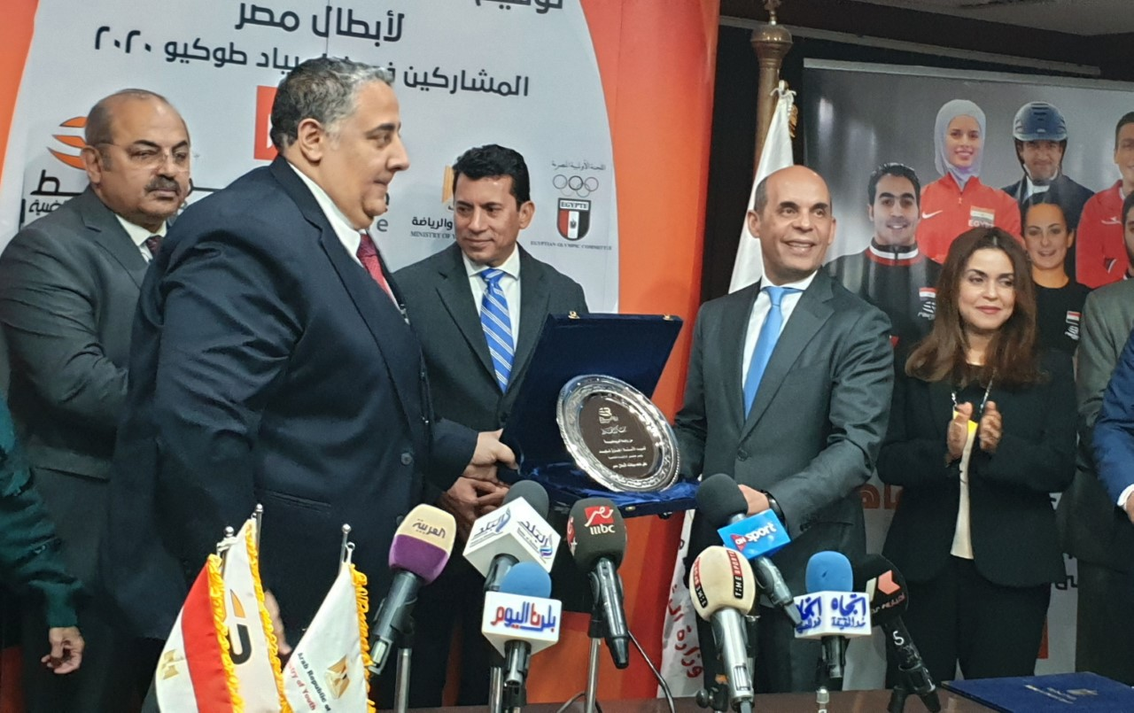 فايد: نرعي 7 من أبطال الألومبياد لتحفيز اللاعبين لرفع اسم مصر بالمحافل الدوليه