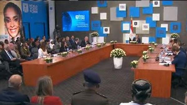 فيديو| الرئيس السيسي: الأوضاع في ليبيا تمس الأمن القومي المصري