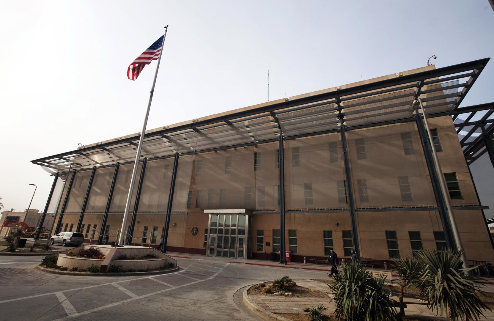 السفارة الأمريكية في العراق تطالب إيران باحترام سيادة جيرانها