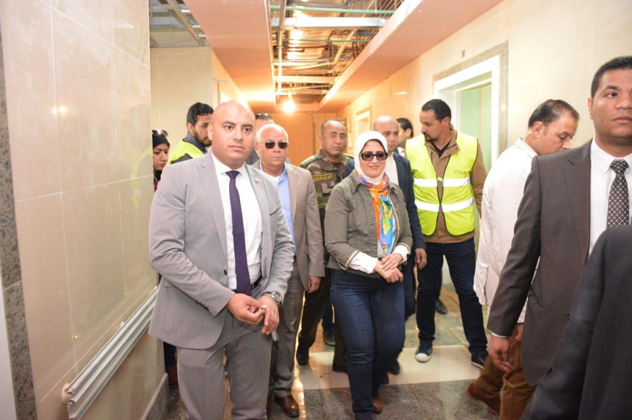 وزيرة الصحة تتوجه إلى بورسعيد لمتابعة تطبيق منظومة التأمين الصحى الشامل