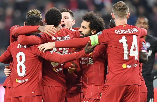 ليفربول ونابولي إلى دور الستة عشر في دوري أبطال أوروبا