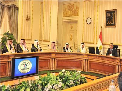 صور| مصطفى مدبولي يستقبل السفير السعودي بالقاهرة ووفد رجال الأعمال المرافق له