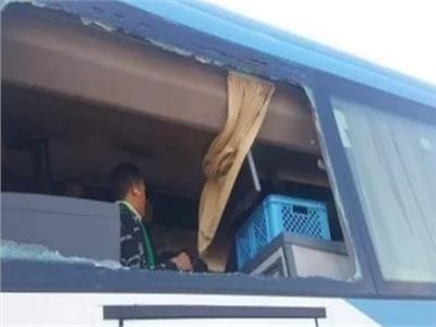 القبض على المتهمين بالاعتداء على جماهير أتوبيس النادي المصري في دمياط