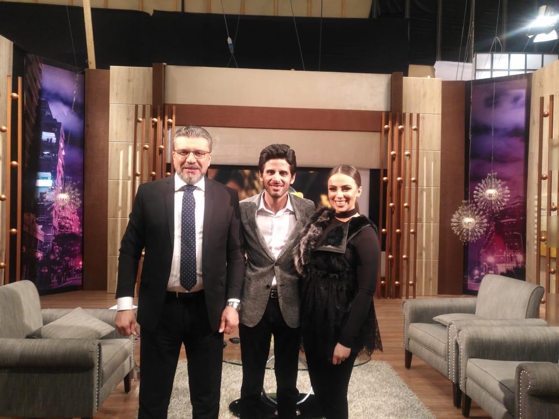 عمر الليثي يستضيف الليلة حمدي الميرغني وزوجته ببرنامج «واحد من الناس» على النهار