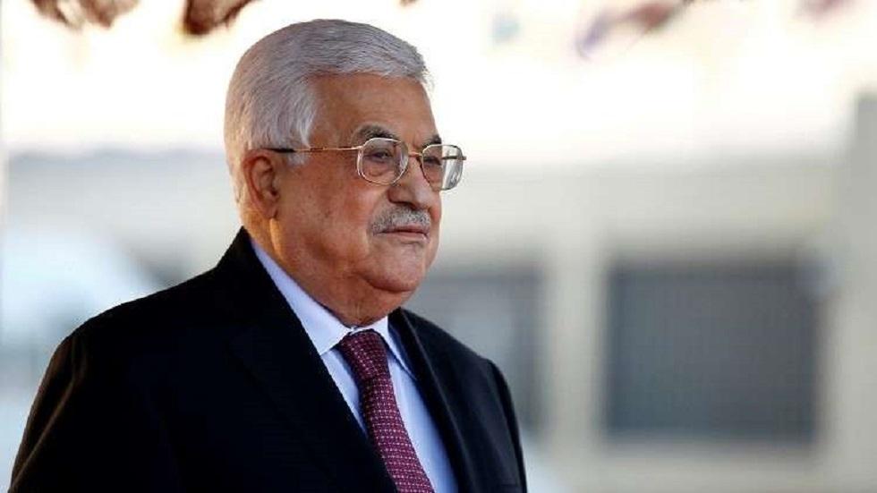 الرئيس الفلسطيني يحذر أمريكا وإسرائيل من ضم أى جزء من أراضى البلاد
