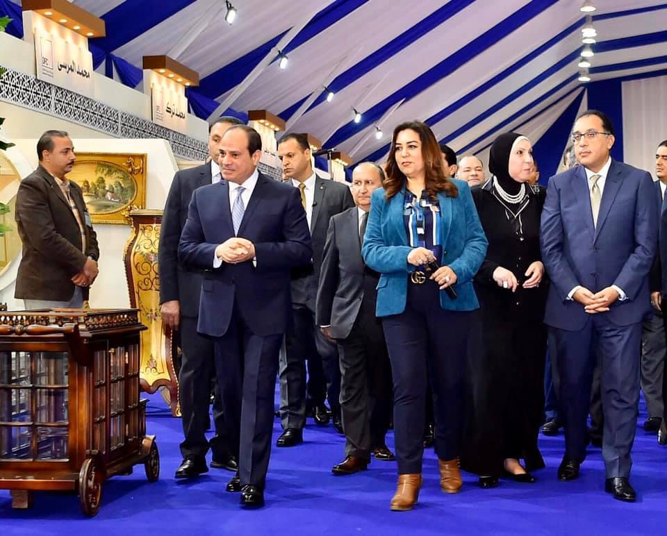 افتتاح مشروعات فى دمياط ومعرض القاهرة للاتصالات أبرز أنشطة الرئيس فى أسبوع