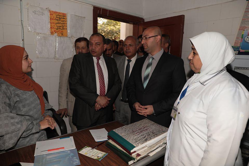 صور | محافظ بني سويف يفتتح القافلة الطبية الشاملة بقرية بني سليمان