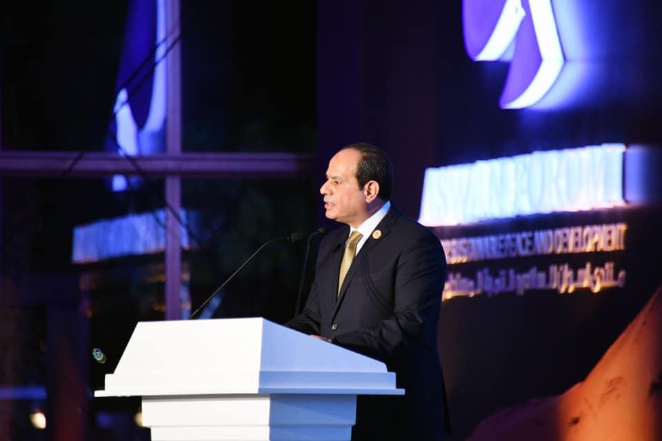 الصحف تبرز المشاركة الفعالة للرئيس السيسي في منتدى السلام والتنمية بأسوان