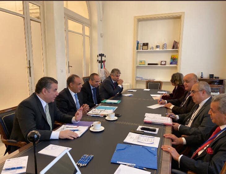 عبد العاطى يستعرض موقف مصر والعرب أمام اجتماع الاتحاد من أجل المتوسط