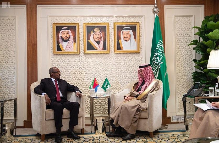 السعودية وإريتريا تبحثان العلاقات الثنائية بالرياض