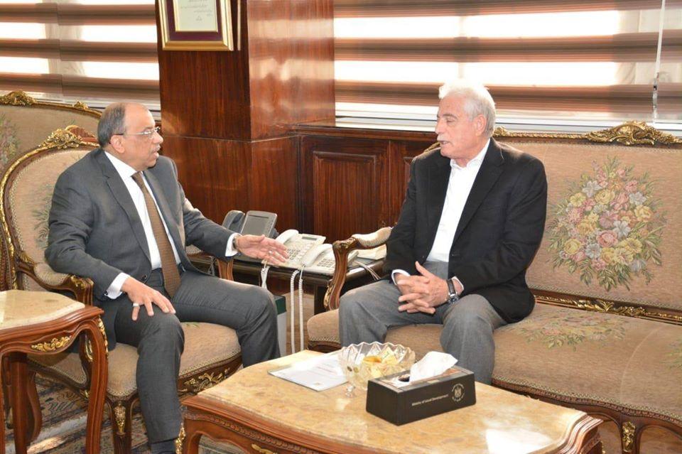 وزير التنمية المحلية يبحث معمحافظ جنوب سيناءسبل تحسين الخدمات المقدمة للمواطنين
