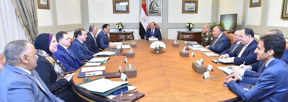 تشديدات الرئيس السيسي على صون مقدرات الشعب تتصدر عناوين الصحف