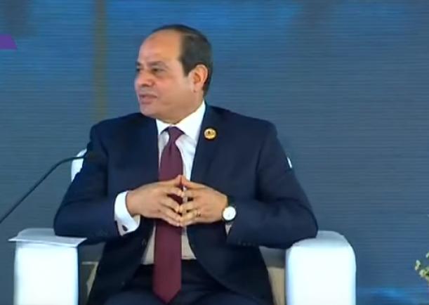 الرئيس السيسي: واجهنا خطر الارهاب والحرب الاهلية في عام  2013