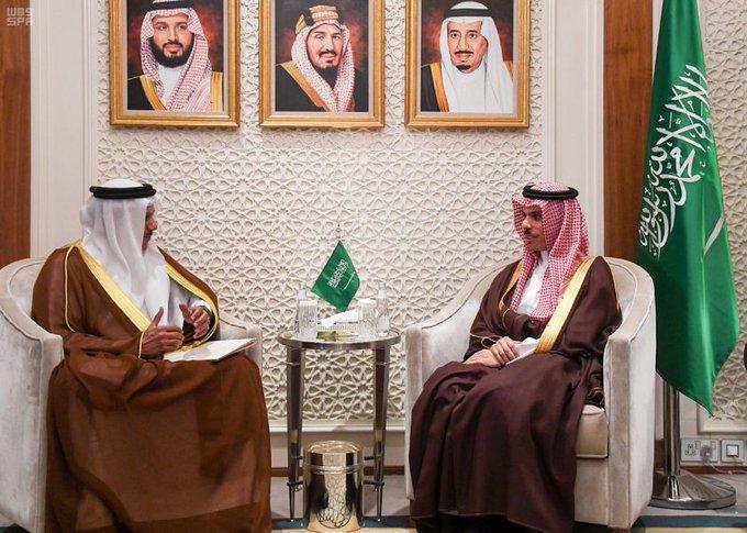 """وزير الخارجية السعودية يبحث مع """"التعاون الخليجي"""" الموضوعات المشتركة"""