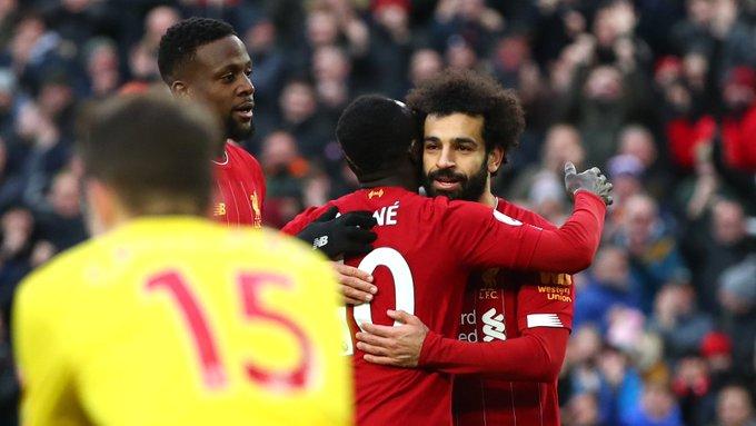 صور | محمد صلاح يقود ليفربول للفوز على واتفورد وتعزيز صدارة الدوري الانجليزي