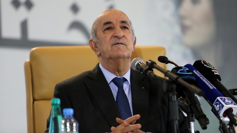 الرئيس الجزائري يرأس اجتماعا للحكومة السبت المقبل