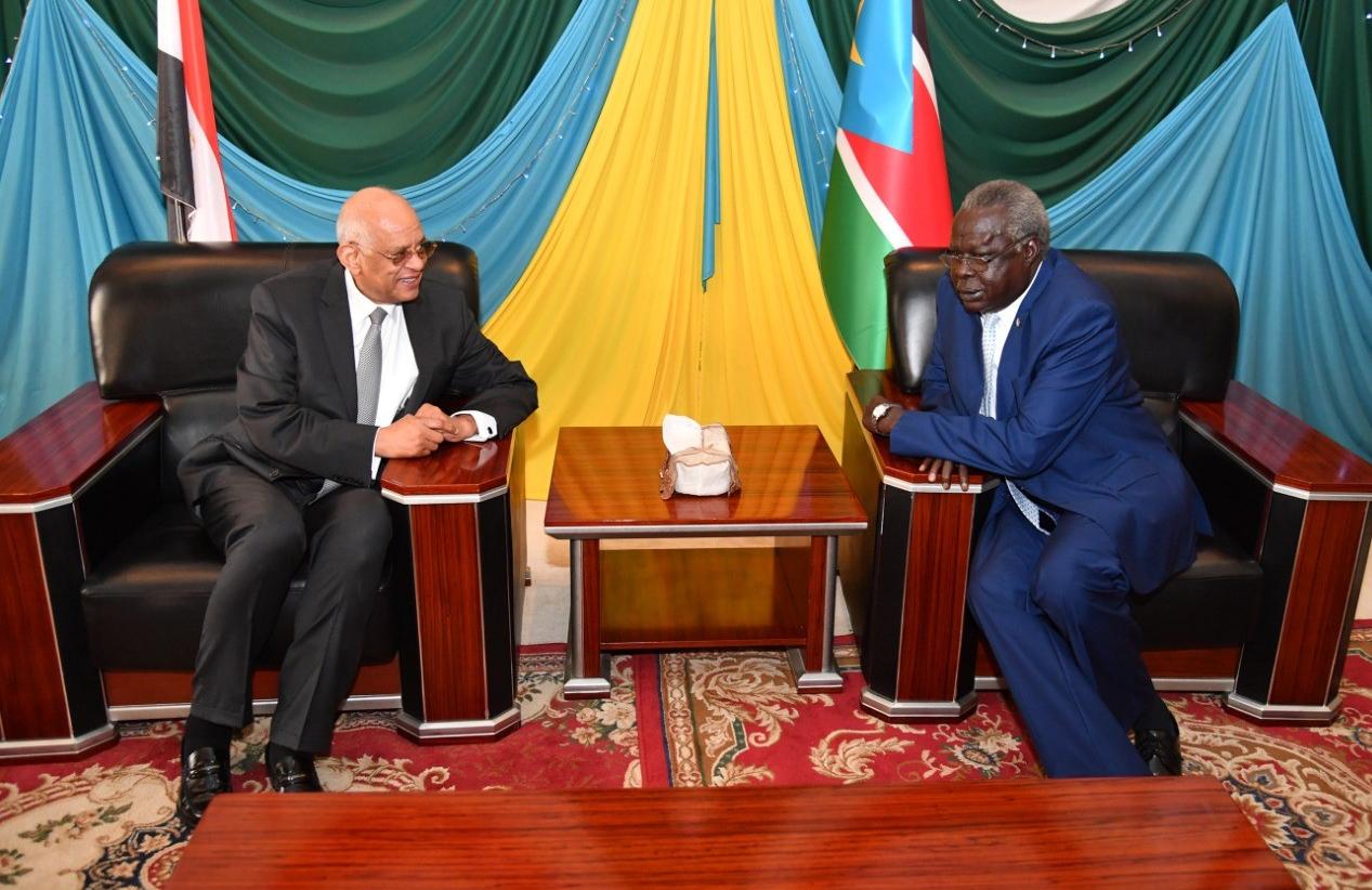 صور| رئيس البرلمان يصل جوبا لبحث العلاقات الثنائية بين البلدين