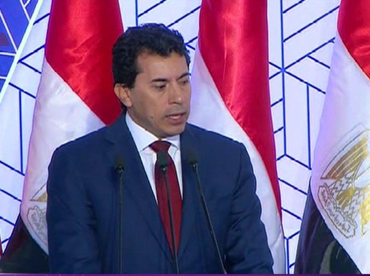 وزير الرياضة : الانتهاء من تطوير نادي دمياط مايو 2020