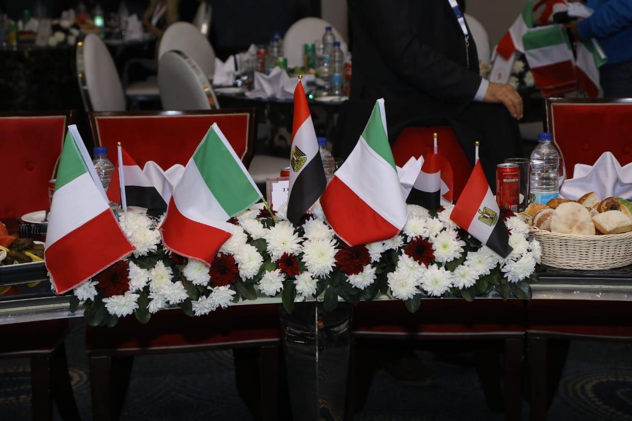 استقبال الوفد الإيطالي17