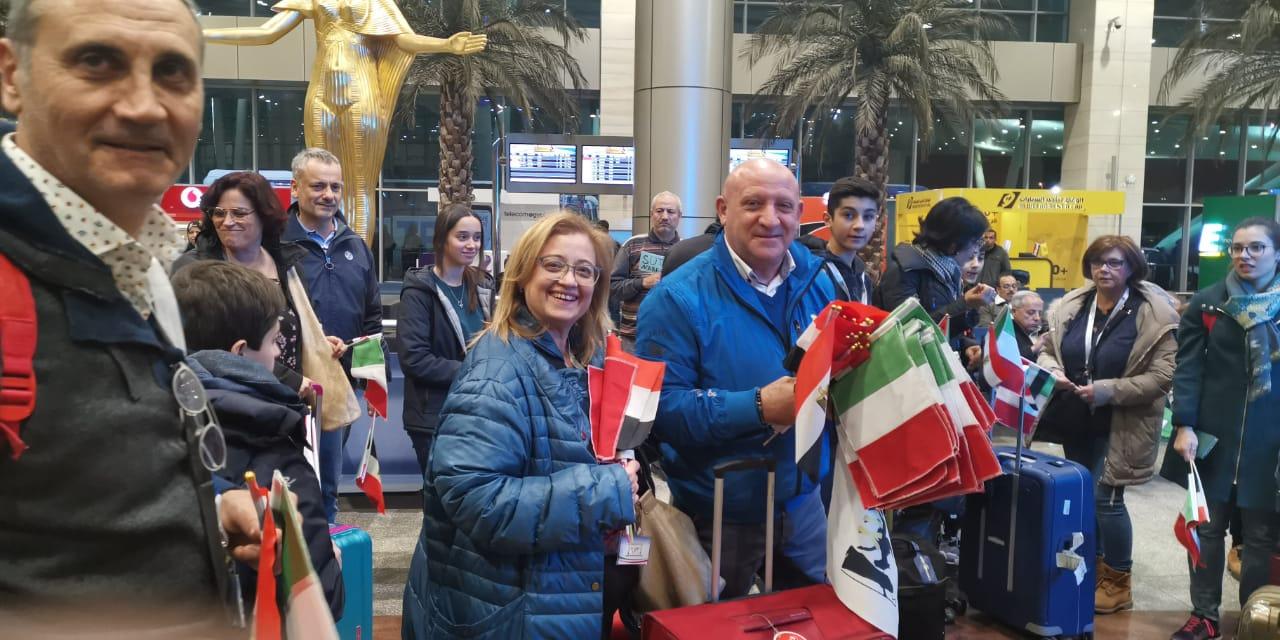 استقبال الوفد الإيطالي18