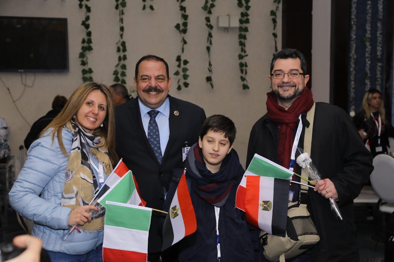 استقبال الوفد الإيطالي9