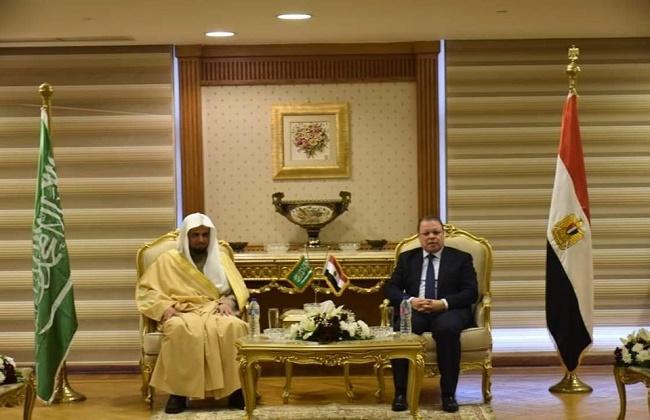 صور| النائب العام يستقبل نظيره السعودي