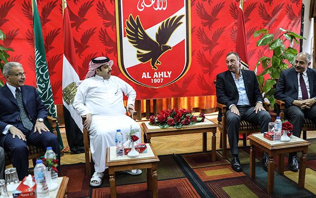 تركي آل الشيخ يطالب النادي الأهلي بحسم موقفه من رئاسته الشرفية