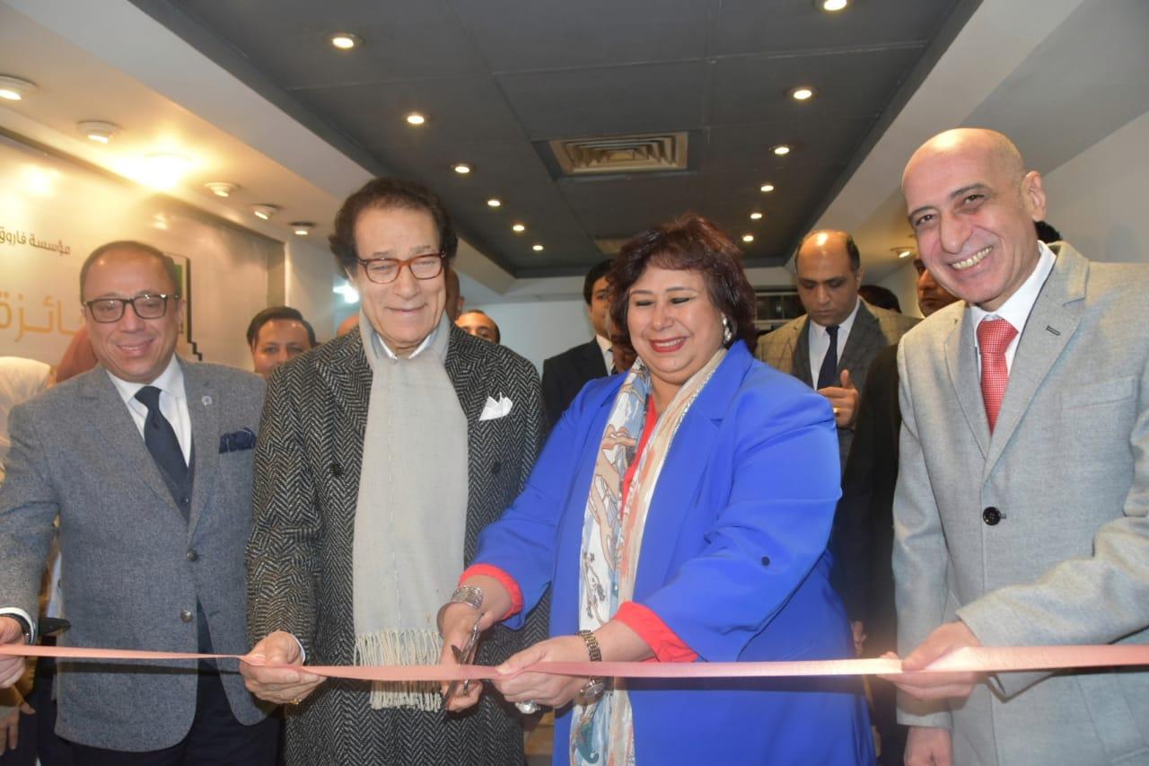 صور| وزير الثقافة تشهد حفل توزيع جوائز مسابقة مؤسسة فاروق حسني