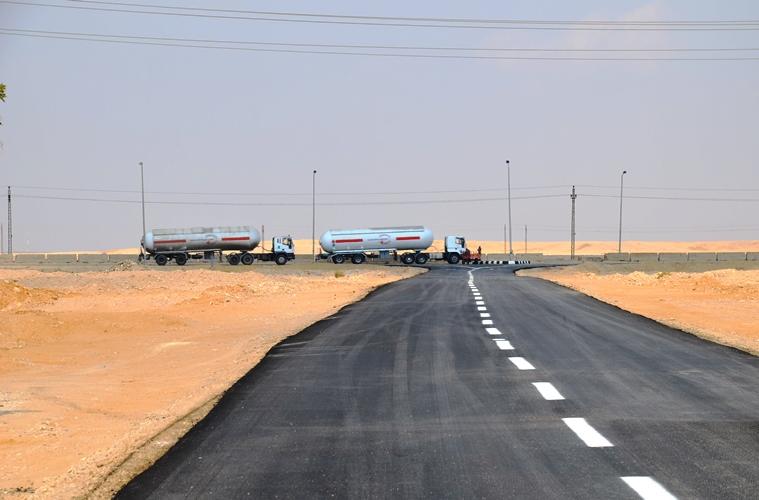 غلق طريق السويس الصحراوى بسبب أعمال تطوير لمدة 10 أيام