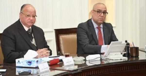 وزير الإسكان ومحافظ القاهرة يتابعان مشروع تطوير منطقة هضبة الحرفيين