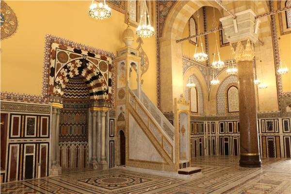 افتتاح مسجد قصر عابدين بعد تطويره بتكلفة 16 مليون جنيه
