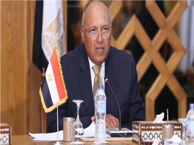 سامح شكري يصل الجزائر لحضور اجتماع دول الجوار الليبي
