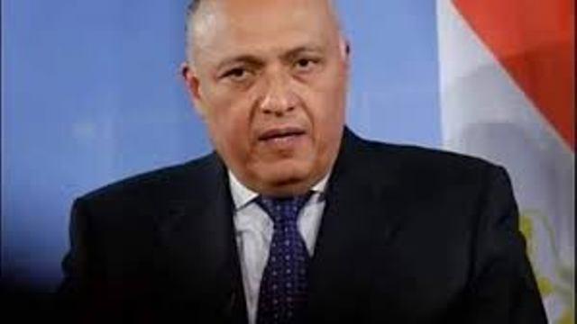 سامح شكري يعود من الجزائر بعد مشاركته في اجتماع دول الجوار الليبي